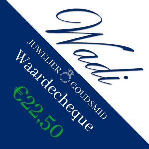 Tegoedbon t.w.v. €22,50