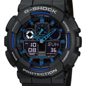 G-Shock Classic Style GA-100-1A2ER Ana-Digi horloge