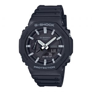 G-Shock Classic Style GA-2100-1AER Carbon Core horloge