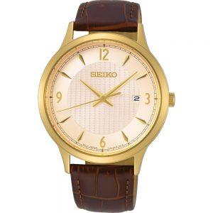 Seiko Quartz SGEH86P1 horloge