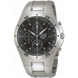 Seiko Quartz SND419P1 Chrono horloge
