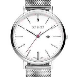 Zinzi horloge ZIW406M Retro Silver