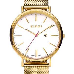 Zinzi horloge ZIW407M Retro Goud