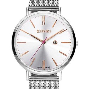 Zinzi horloge ZIW412M Retro Silver Rose