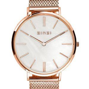 Zinzi horloge ZIW418M Retro Mother of Pearl Rose