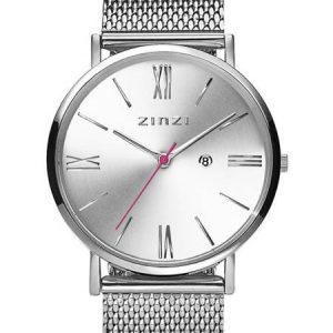 Zinzi horloge ZIW502M Roman Silver