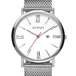 Zinzi horloge ZIW506M Roman Silver