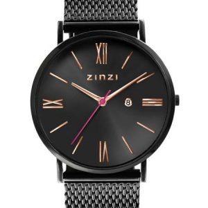 Zinzi horloge ZIW509M Roman Zwart