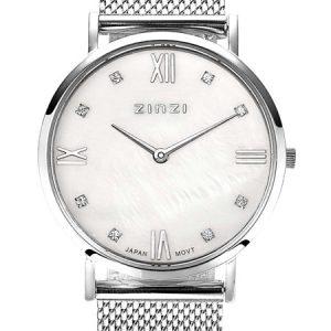 Zinzi horloge ZIW521M Roman Zilver Parelmoer