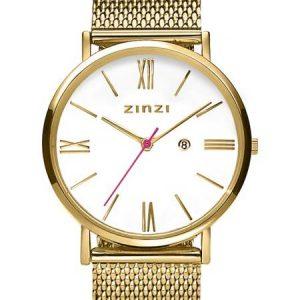 Zinzi horloge ZIW507M Roman Goud