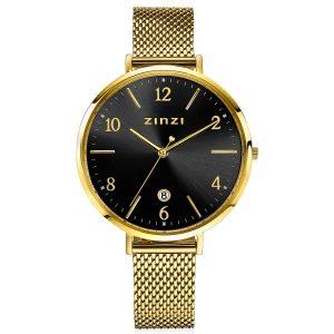 Zinzi horloge ZIW1443 Sophie Black Gold