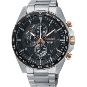 Seiko Quartz SSB323P1 Chrono horloge