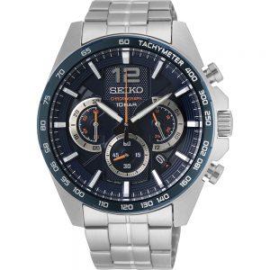 Seiko Quartz SSB345P1 Chrono horloge