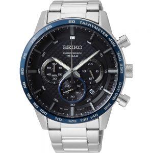 Seiko Quartz SSB357P1 Chrono horloge