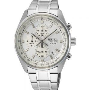 Seiko Quartz SSB375P1 horloge