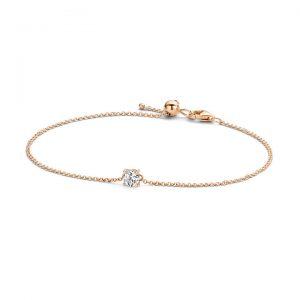 Armband 2166RZI – Rosé goud (14Krt.) met Zirconia