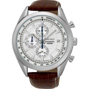 Seiko Quartz SSB181P1 Chrono horloge