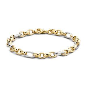 Armband 2170BGO – Geel en Wit Goud (14Krt.)