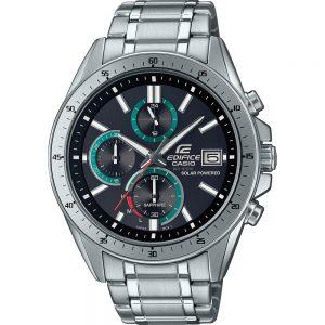Casio Edifice EFS-S510D-1BVUEF Premiumm Solar heren chronograaf met datum