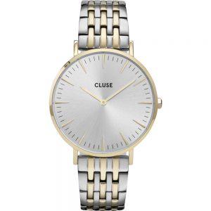 Cluse Boho Chic 38 CW0101201025 Boho Chic horloge Bicolor minimalistisch dameshorloge
