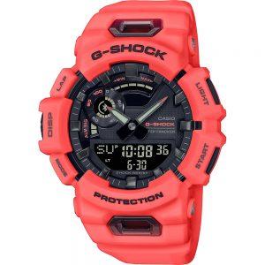 G-Shock G-Squad GBA-900-4AER G-Squad horloge Analoog-digitaal met Bluetooth