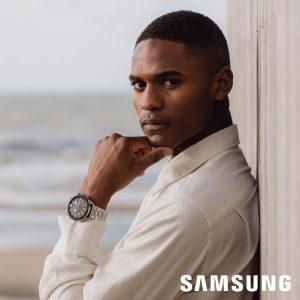 Samsung  Galaxy Watch 3 horloge 45mm Silver special edition met 2 extra banden SA.R840SS