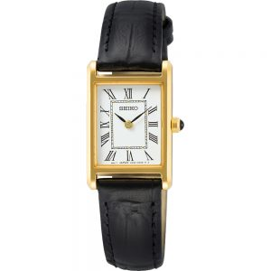 Seiko SWR054P1 horloge Rechthoekig quartz dameshorloge